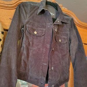 Gap Charcoal Corduroy Jacket